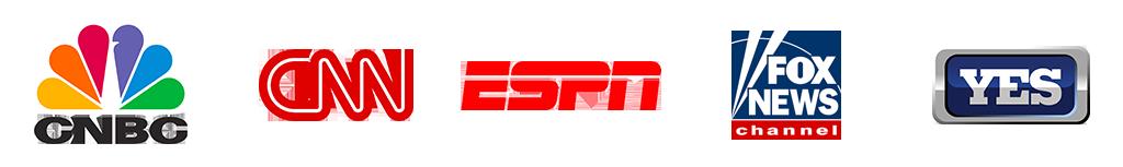 CNBC CNN ESPN FOX NEWS YES